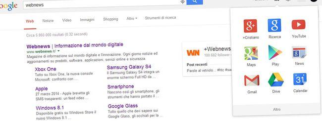 Novità per le icone delle app sulle pagine Google
