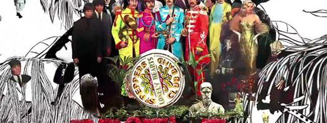 Apple, spot e libro interattivo per i Beatles