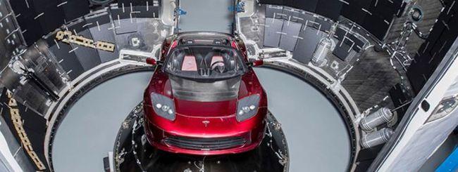 Elon Musk manderà la Tesla Roadster nello spazio