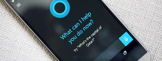 Microsoft rilascia la beta di Cortana per Android