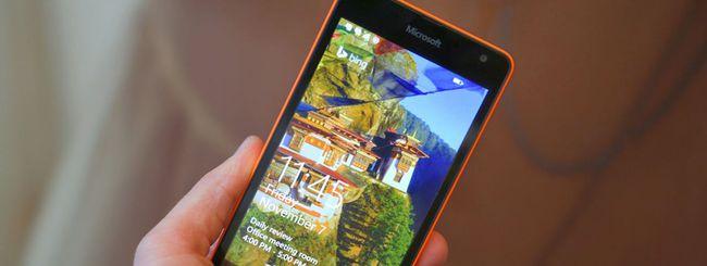 Lumia 535, problema al touchscreen: arriva un fix