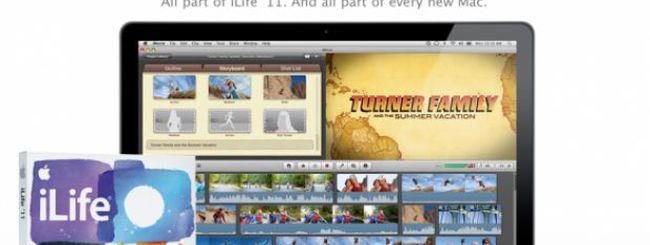 Back to the Mac 2010: iLife '11 prezzi e disponibilità