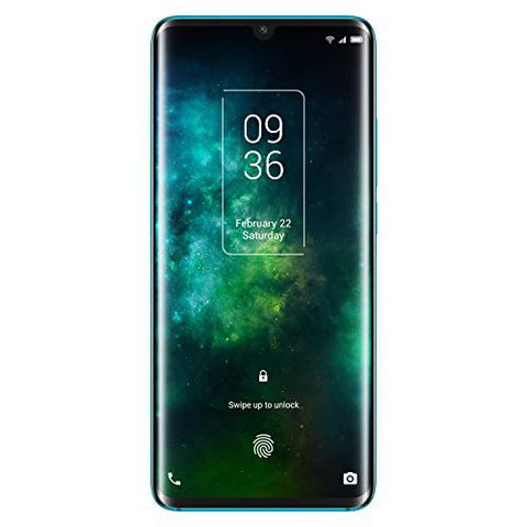 """TCL 10PRO, 6.47"""" FHD+ AMOLED Curved (Forest Mist Green)"""