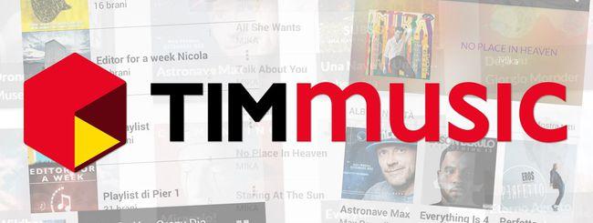 Telecom Italia sfida Spotify con TIMmusic