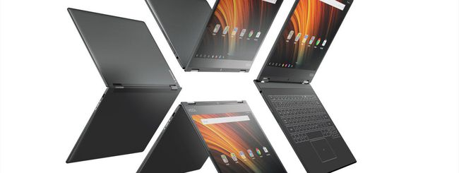 Lenovo Yoga A12, tablet Android con tastiera touch
