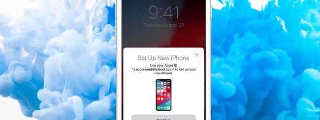 Ripristinare un iPhone direttamente dall'altro (senza backup)