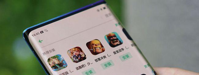 Oppo svela il Waterfall Screen per smartphone