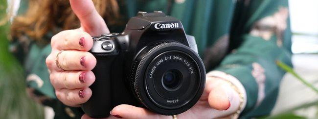 La reflex Canon più leggera del mondo