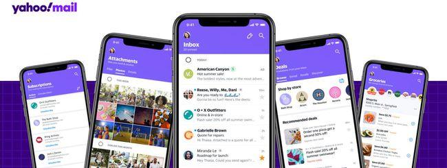 Yahoo Mail, novità per l'app Android e iOS