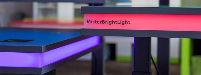MisterBrightLight, la standing desk hi-tech