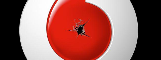 Vodafone down: la rete fissa è ferma (risolto)
