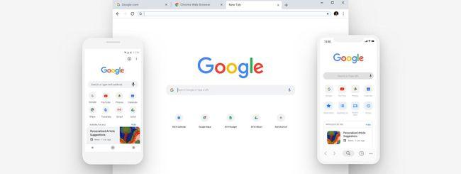Google Chrome 69, nuovo design e più sicurezza