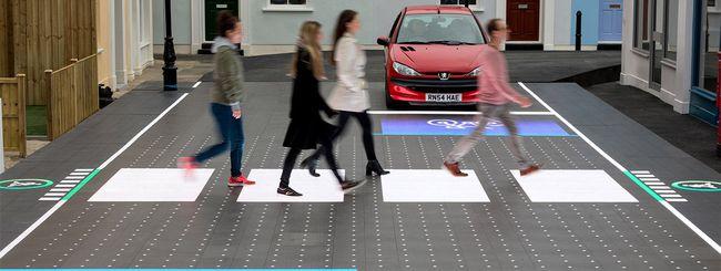 La strada del futuro: LED al posto dell'asfalto