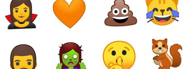 Android O: addio ai blob emoji