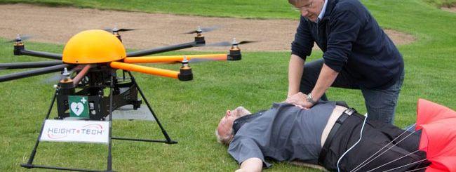Defikopter, il drone salva-vita
