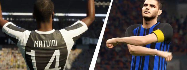 Gamescom 2017: FIFA 18 vs. PES 2018, i trailer