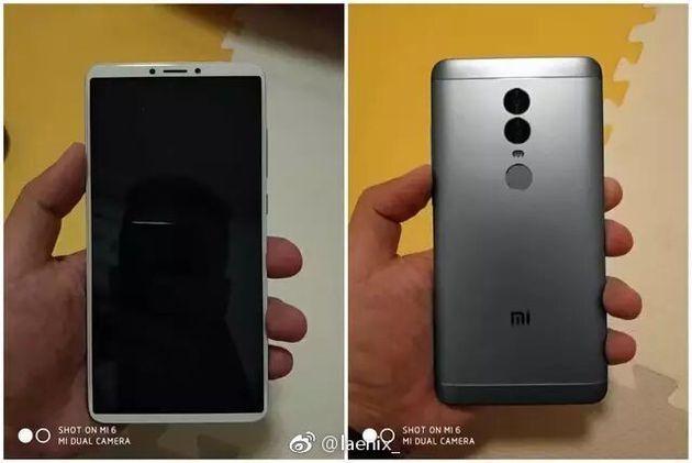 Xiaomi Redmi Note 5 leak