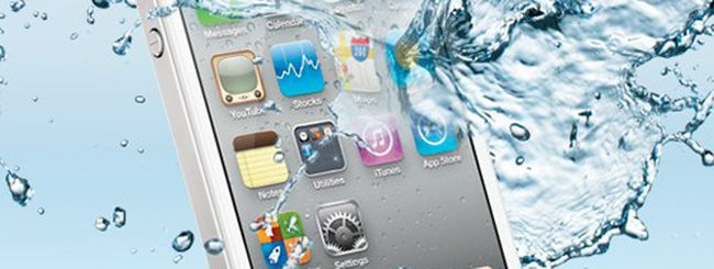 iPhone 5 resistente all'acqua con Liquipel