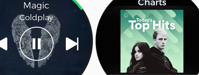 Spotify arriva sugli smartwatch Gear S2 e Gear S3