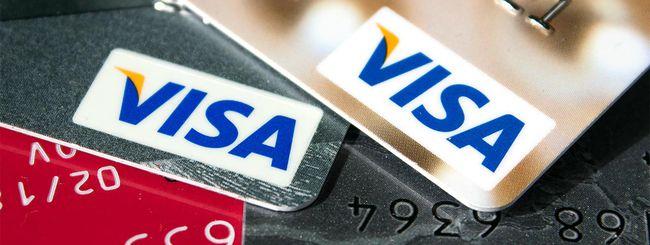Visa, pagamenti bloccati in tutta Europa