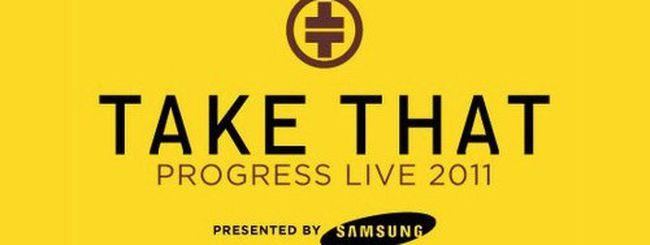Samsung: flash mob a Milano sulle note dei Take That