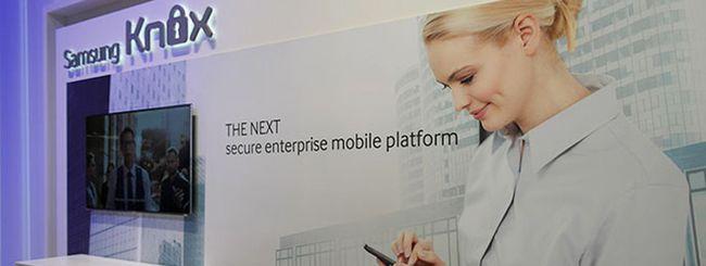 Samsung KNOX verrà integrato in Android L