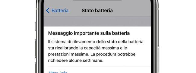 iPhone 11, ricalibrazione batteria con iOS 14.5