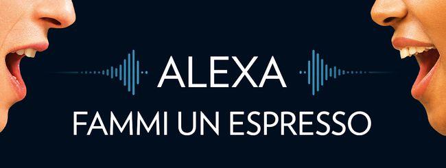Alexa fa anche il caffè con Lavazza A Modo Mio
