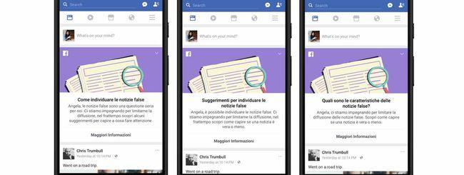 Facebook: News Feed contro la disinformazione