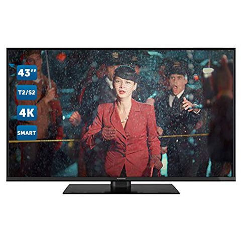 Panasonic TX-43GX555E - TV LED 43 Pollici 4K, DVB-T2, Smart TV, Wifi