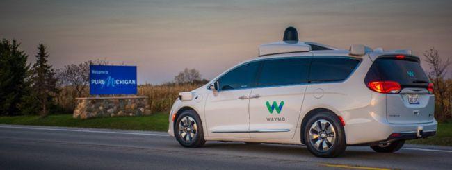 Waymo produrrà auto a guida autonoma in serie