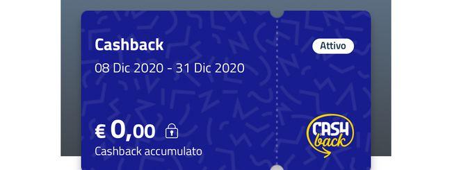 Cashback di Stato, come aggiungere una carta all'app IO