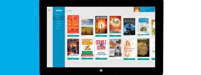 Kobo rilascia l'app di lettura per Windows 8.1