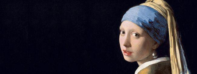 Google, le opere di Vermeer su smartphone