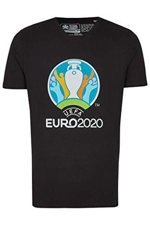 UEFA EURO 2020 Maglietta 'Competition' Nera (S)