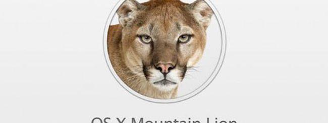 Siri esclusa da OS X Mountain Lion