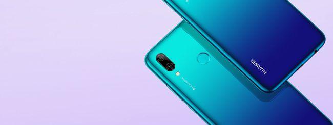 Huawei P Smart 2019 disponibile in Italia