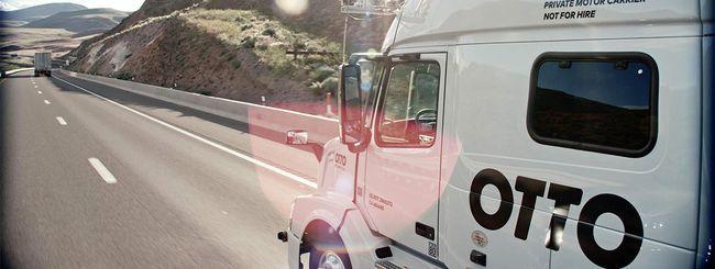 Uber: problemi per i camion self-driving di Otto?