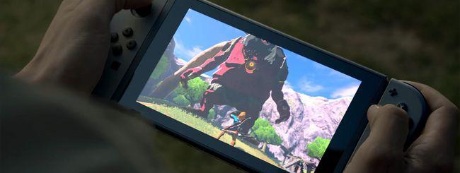 Nintendo Switch: niente retrocompatibilità