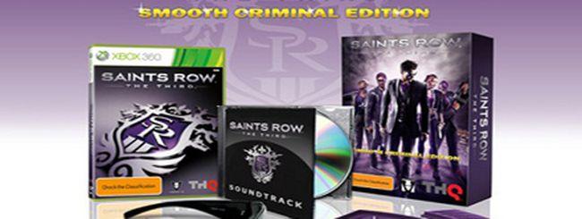 Annunciata la Smooth Criminal Edition per Saints Row: The Third