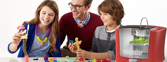 Mattel ThingMaker, la stampante 3D giocattolo per iPhone e iPad