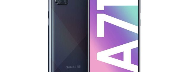 Samsung Galaxy A71, al via i preordini su Amazon