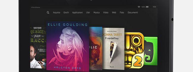 Amazon aggiorna il browser Silk per i tablet Fire