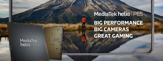 MediaTek Helio P65, nuovo chip per smartphone