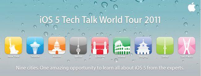 iOS 5 Tech Talk World Tour arriva a Roma