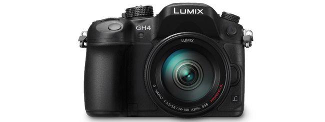 Panasonic lancia Lumix GH4R con V-Log L Recording