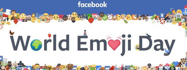 Il World Emoji Day secondo Facebook