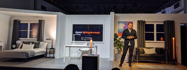 Lightcycle Morph: da Dyson la nuova lampada smart
