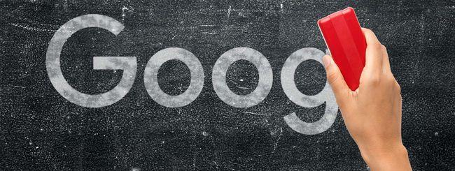 """Google spiega il diritto all'oblio """"globale"""""""
