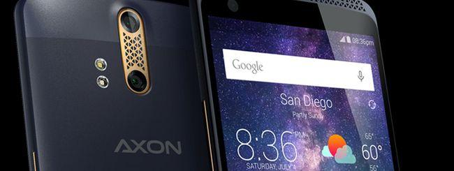 ZTE Axon, dual camera e audio Hi-Fi con Android